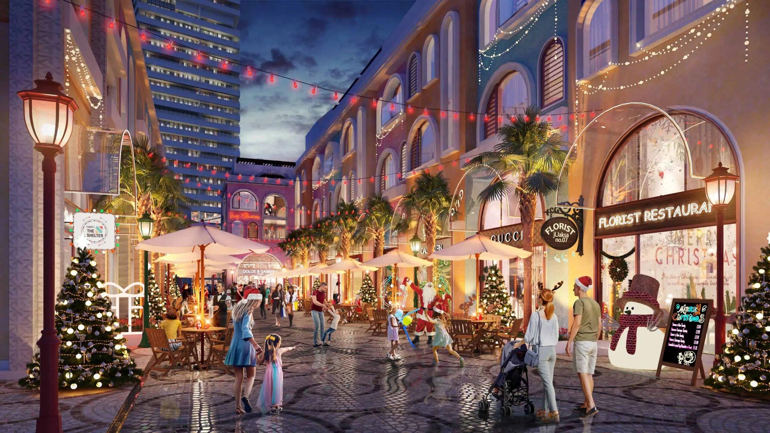 Shophouse Caribbean dự án Vega City Bãi Tiên Nha Trang