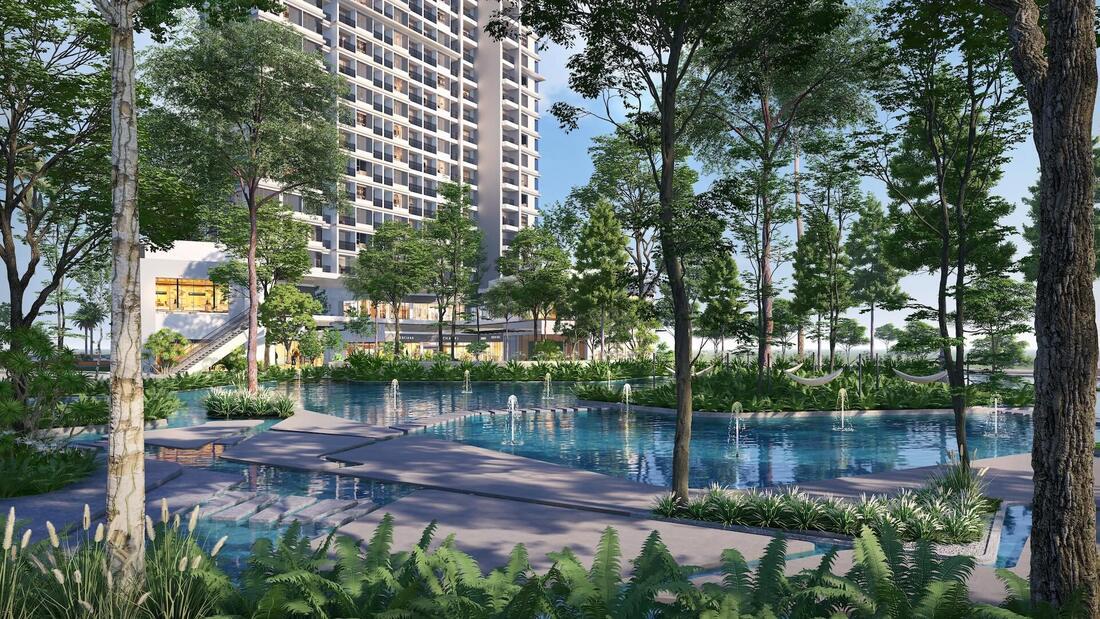 tiện ích dự án haven park residences ecopark
