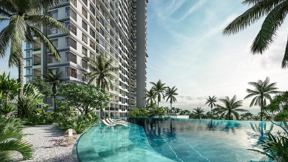 bể bơi haven park residences ecopark