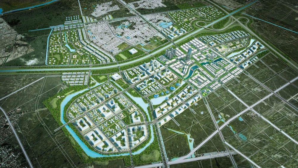 dự án khu đô thị kim đô thị trấn chờ yên phong bắc ninh