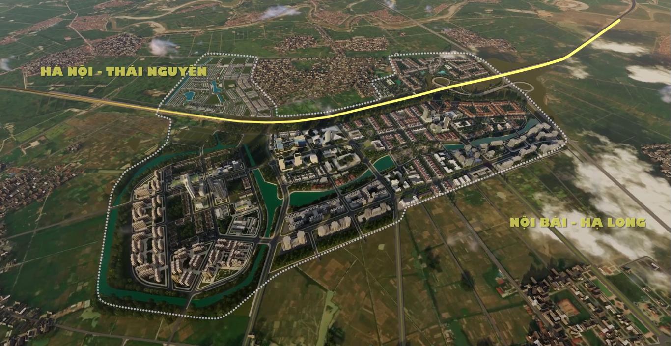 mặt bằng tổng thể dự án khu đô thị kim đô yên phong bắc ninh