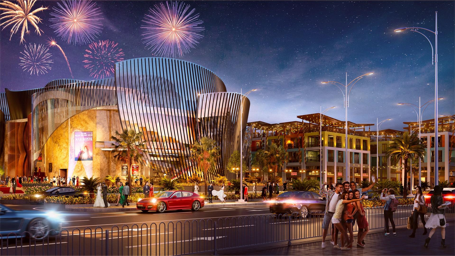 nhà hát opera tại dự án vega city nha trang