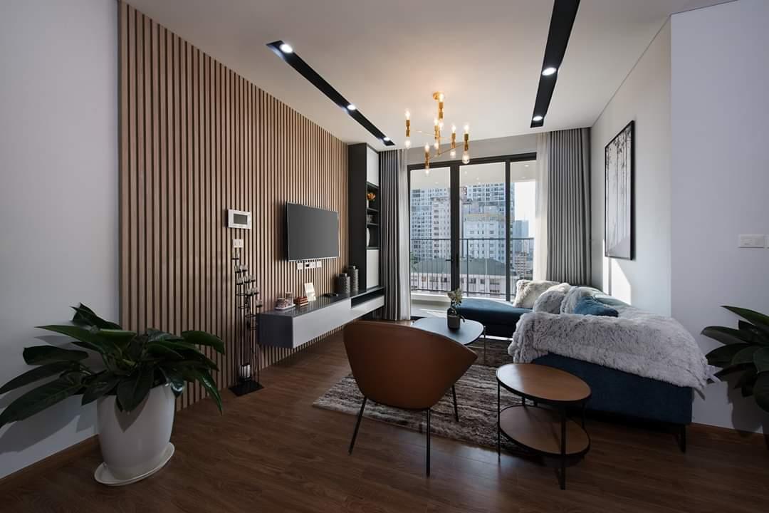 nội thất căn hộ trinity tower