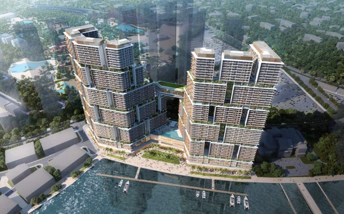phối cảnh dự án Sun Grand Marina Town