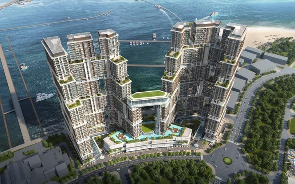 phối cảnh dự án Sun Grand Marina Town hạ long