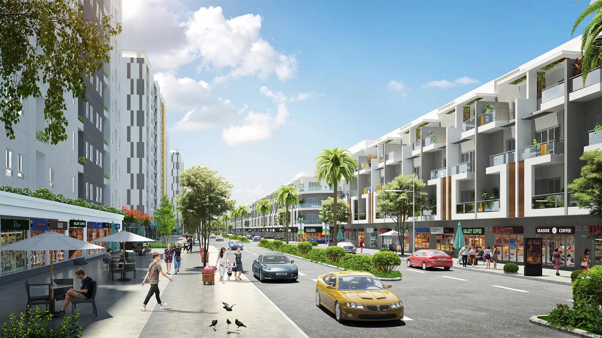 shophouse dự án hoàng huy new city thủy nguyên hải phòng