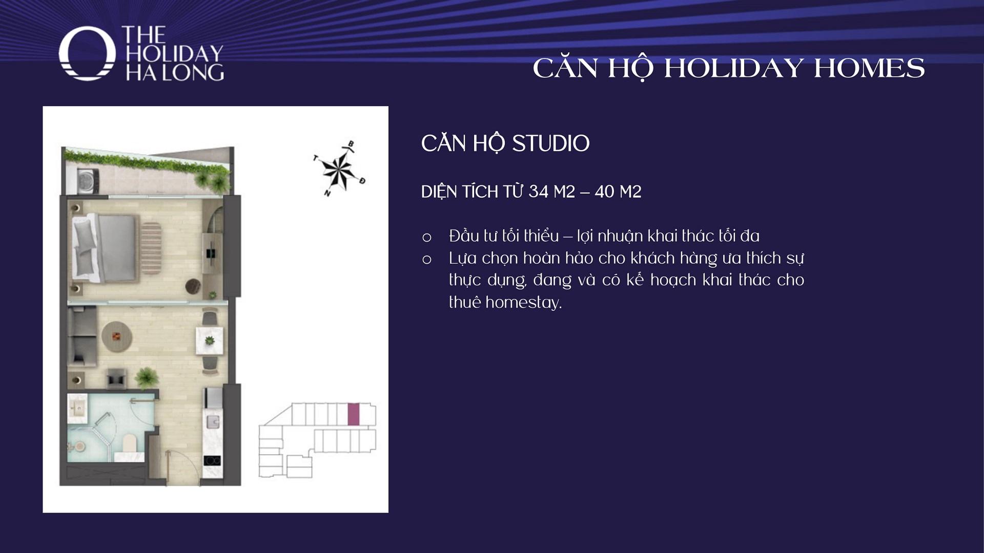 thiết kế căn hộ the holiday hạ long 3
