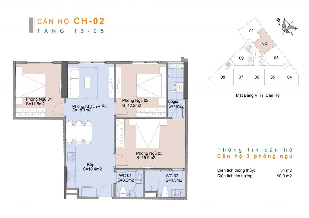 thiết kế căn hộ 02