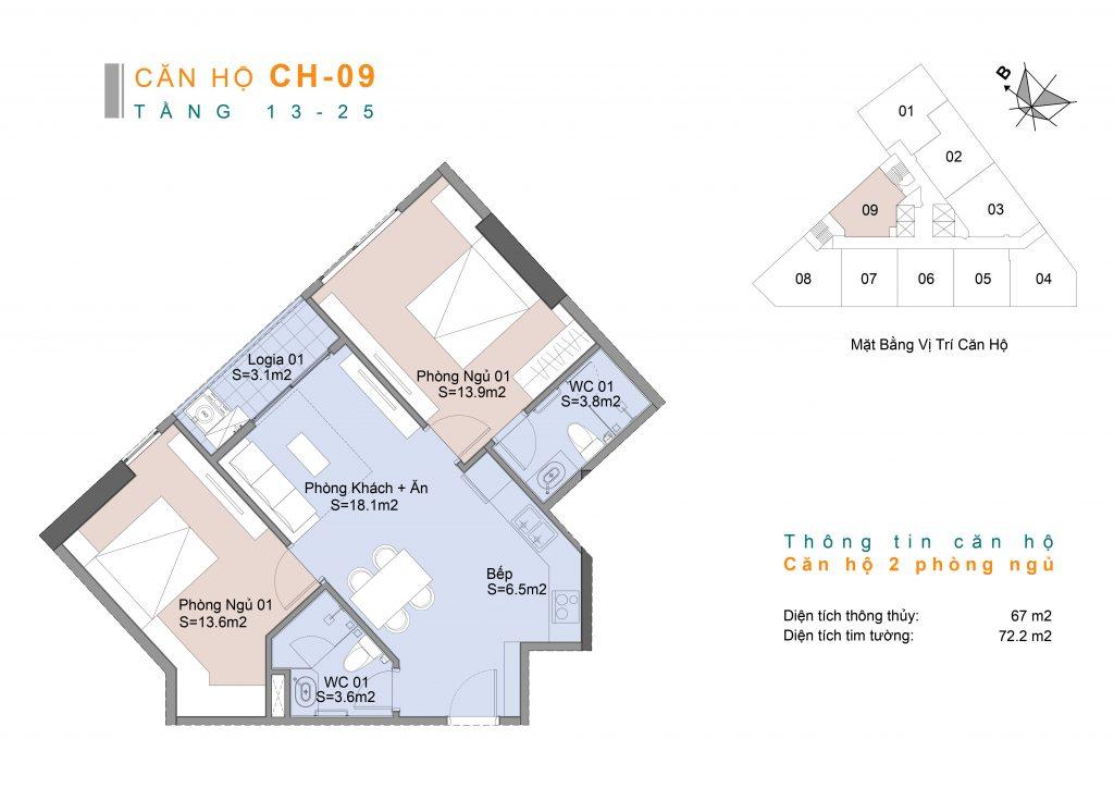 thiết kế căn hộ 09