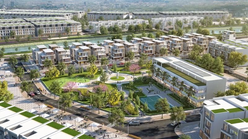 tiện ích dự án tnr grand palace river park uông bí
