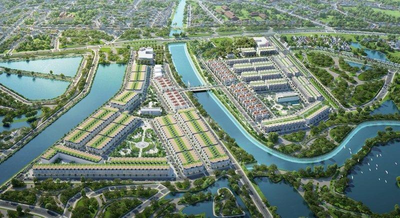 phối cảnh dự án tnr grand palace river park uông bí