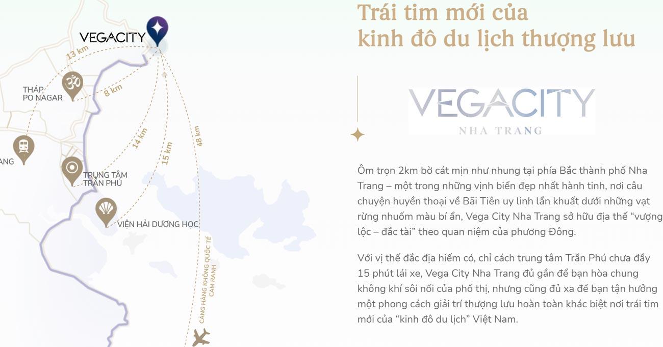 liên kết vùng dự án vega city nha trang