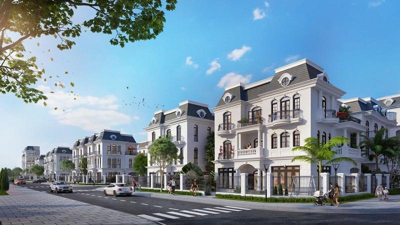 biệt thự dự án vinhomes dream city văn giang hưng yên