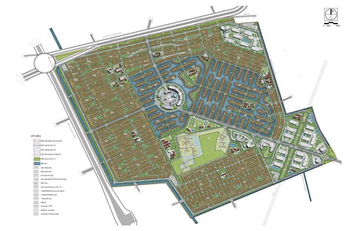 mặt bằng dự án vinhomes dream city văn giang hưng yên