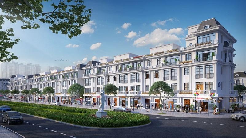 shophouse dự án vinhomes dream city văn giang hưng yên