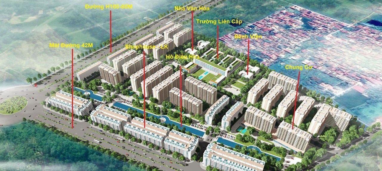 dự án cát tường smart city yên phong bắc ninh