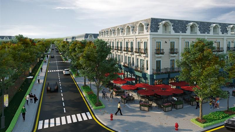 liền kề dự án uông bí new city