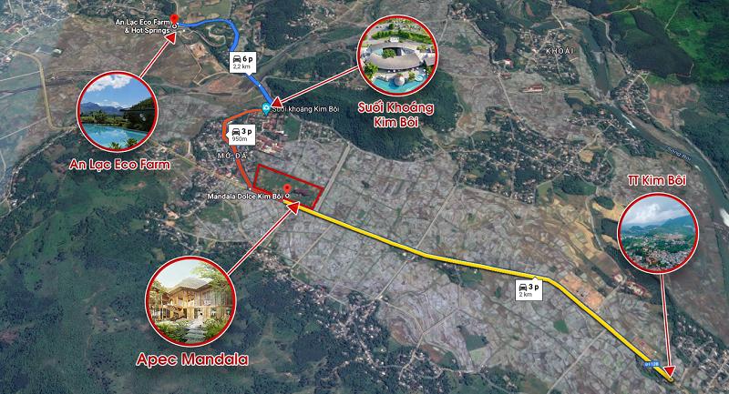 liên kết vùng dự án apec mandala sky villas kim bôi hòa bình