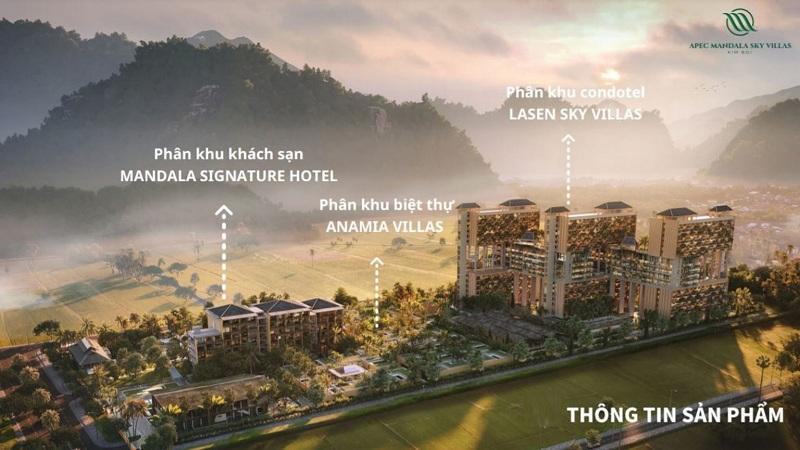 mặt bằng tổng thể dự án apec mandala sky villas kim bôi hòa bình
