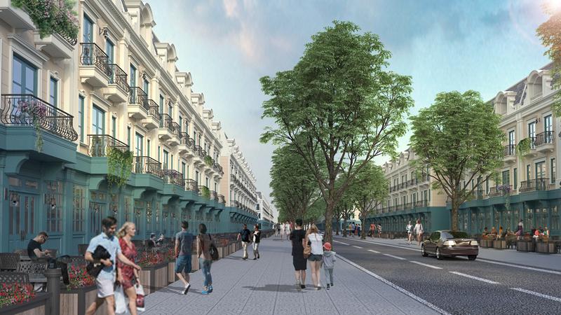 shophouse dự án uông bí new city
