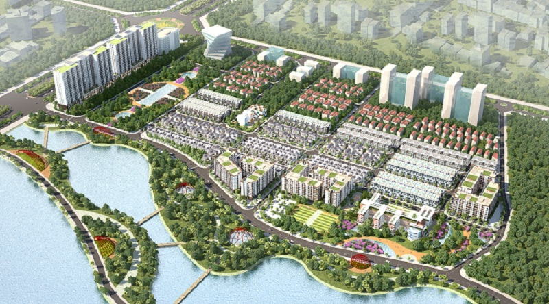 dự án the diamond park mê linh