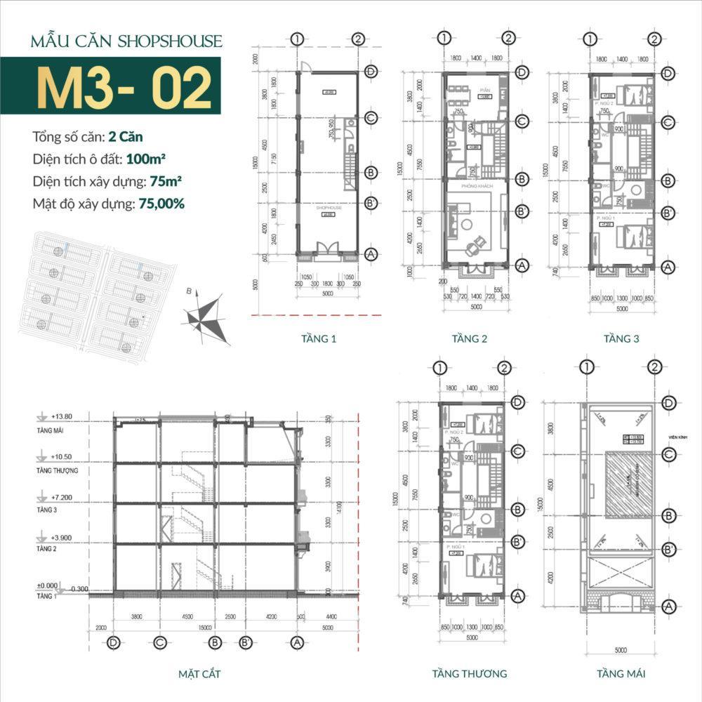 thiết kế shophouse times square uông bí 10