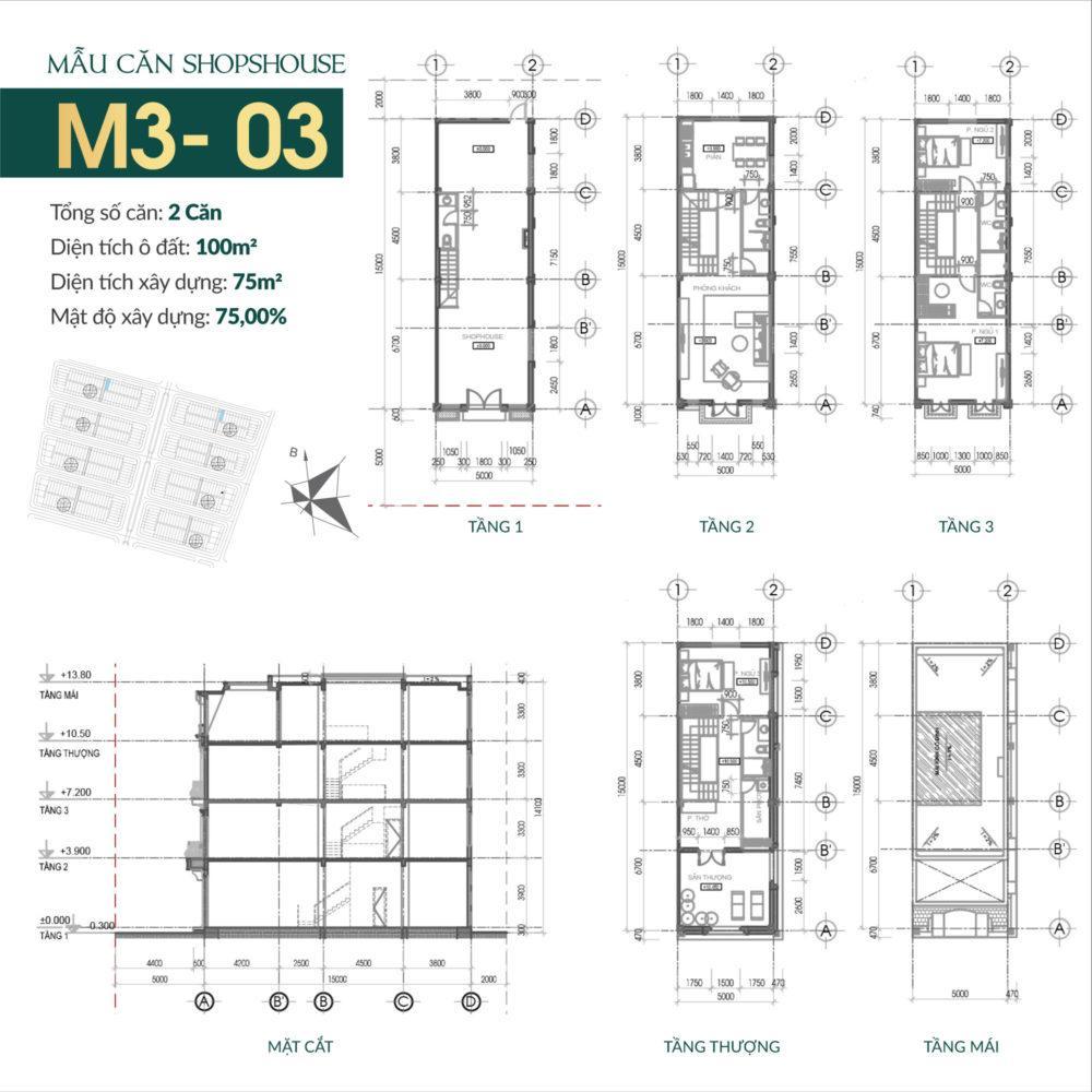 thiết kế shophouse times square uông bí 11