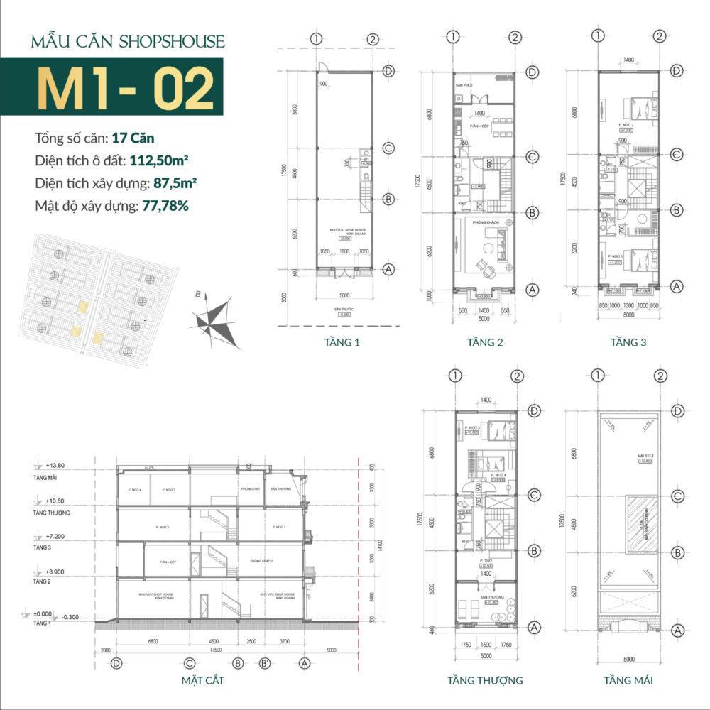 thiết kế shophouse times square uông bí 2