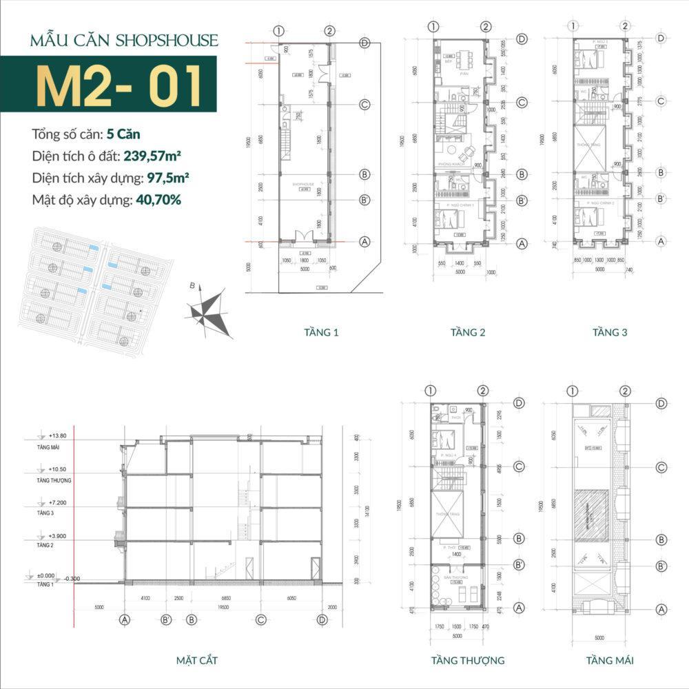 thiết kế shophouse times square uông bí 3