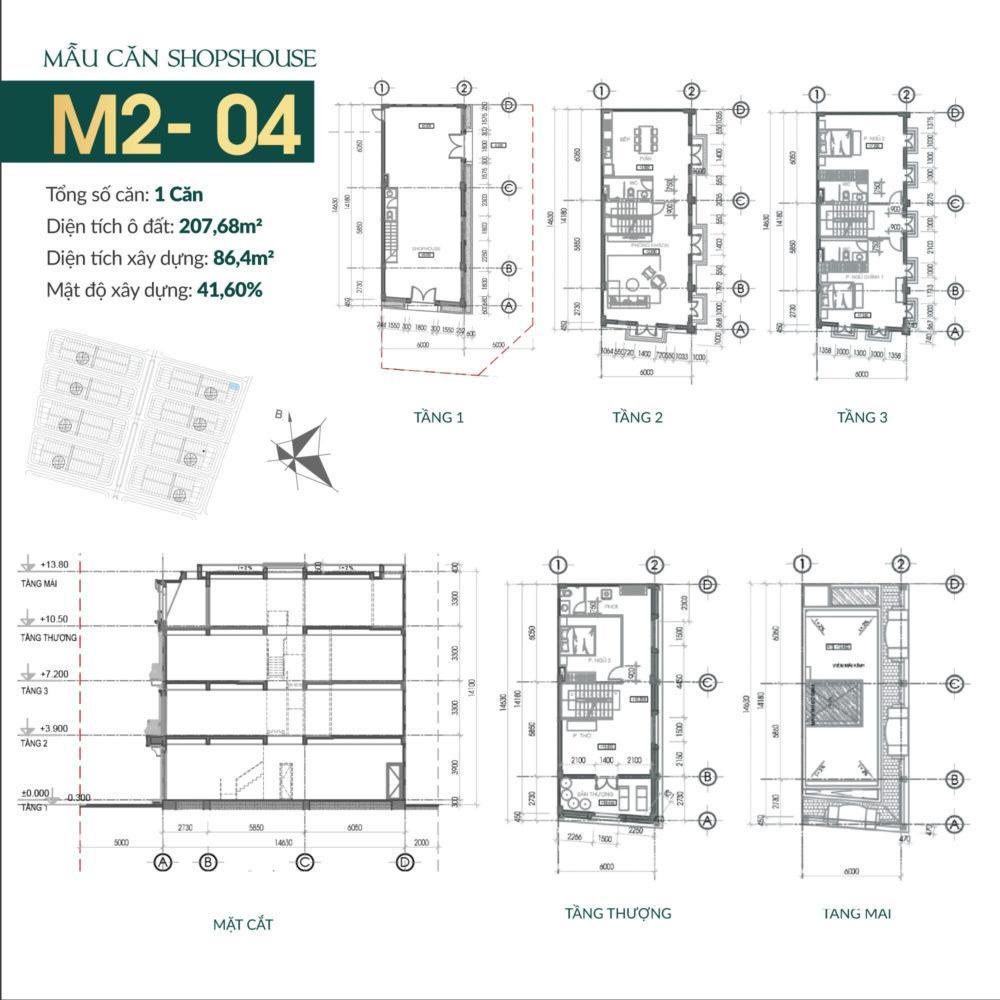 thiết kế shophouse times square uông bí 6