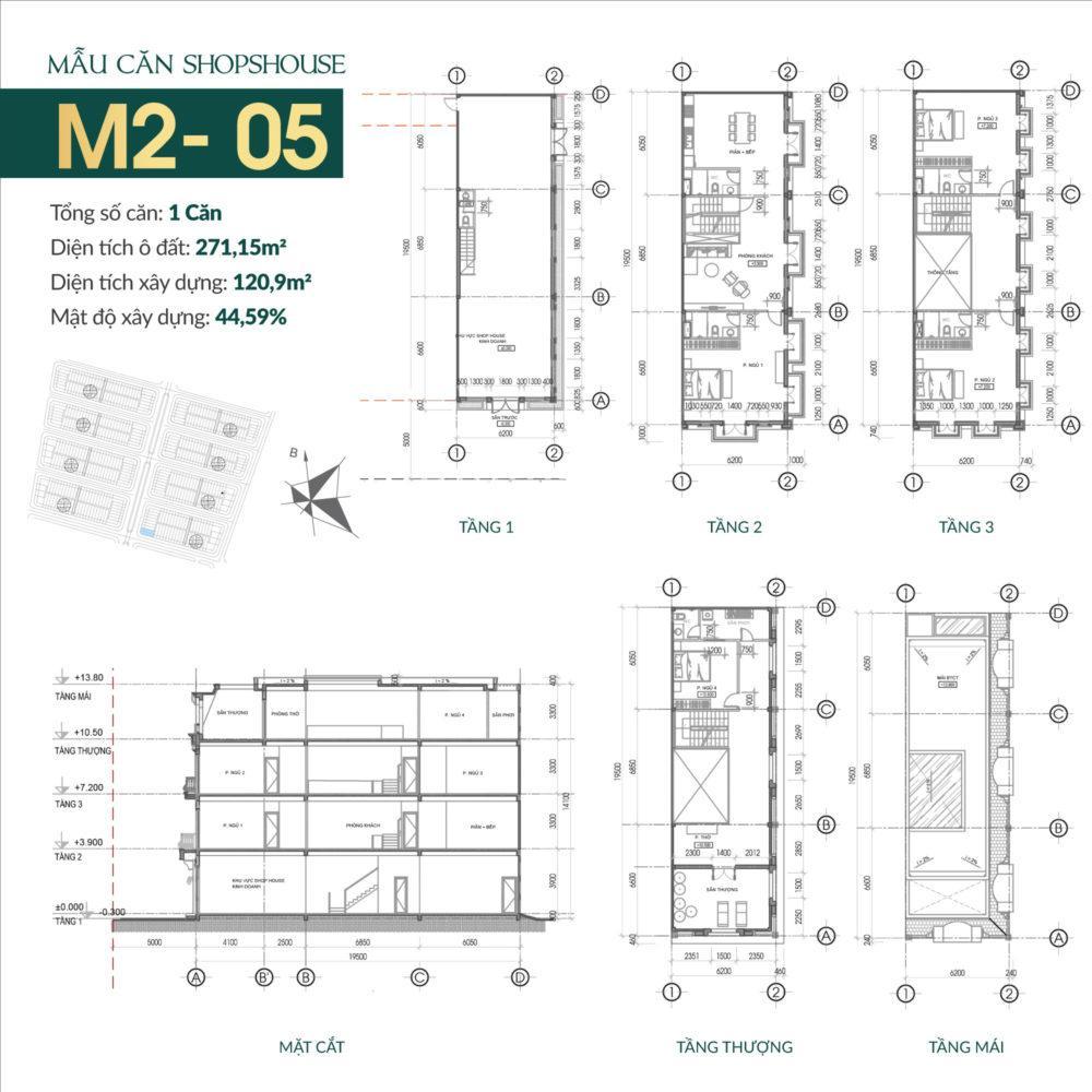 thiết kế shophouse times square uông bí 7