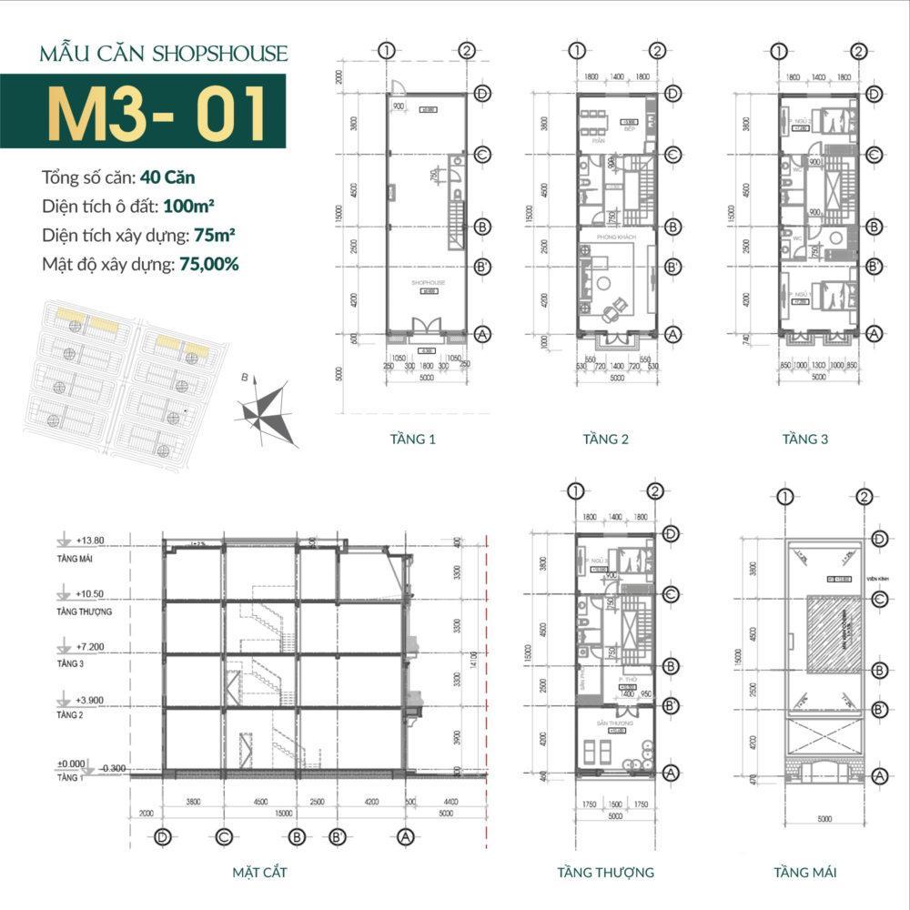 thiết kế shophouse times square uông bí 9
