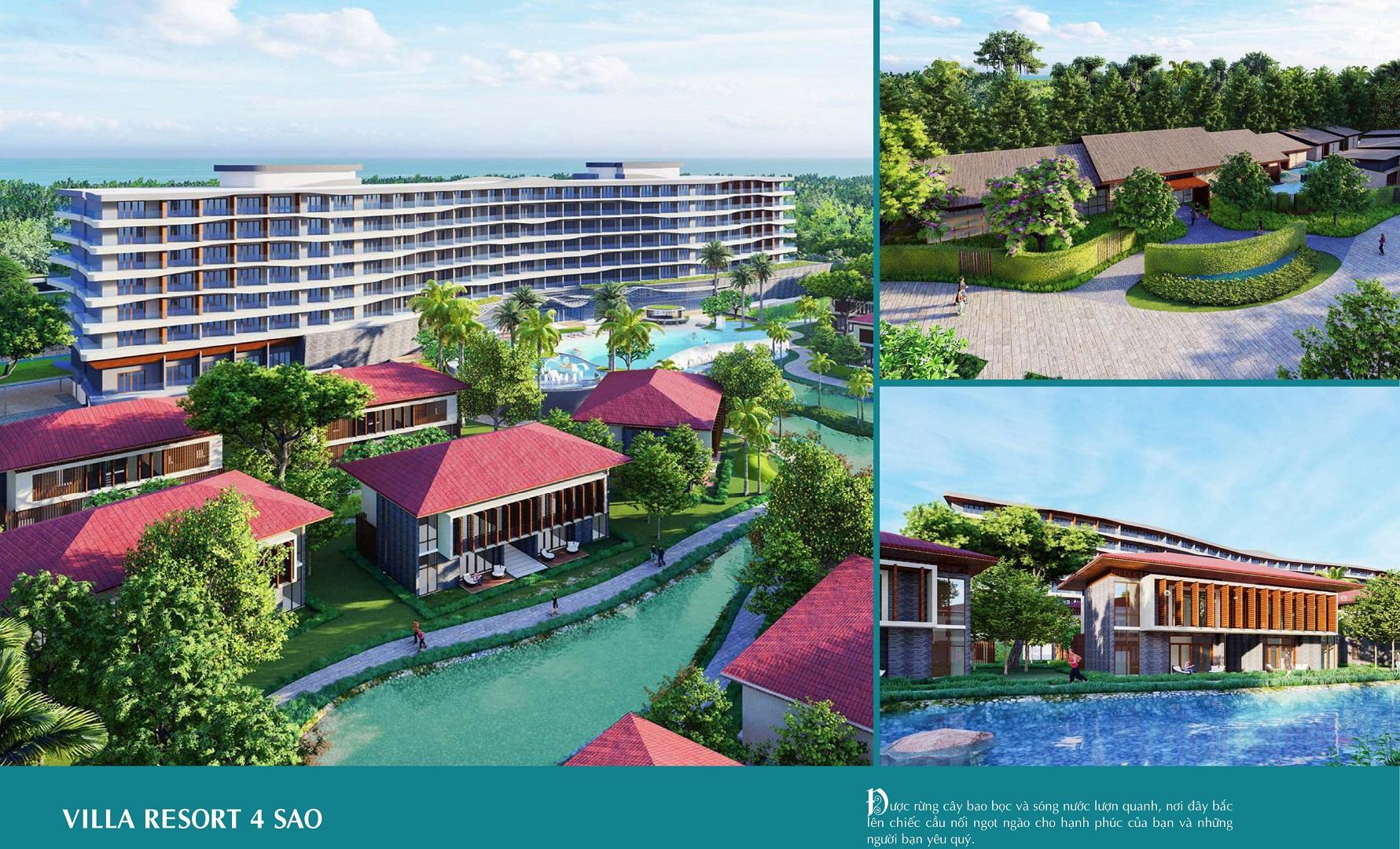 villa resort 4 sao selavia