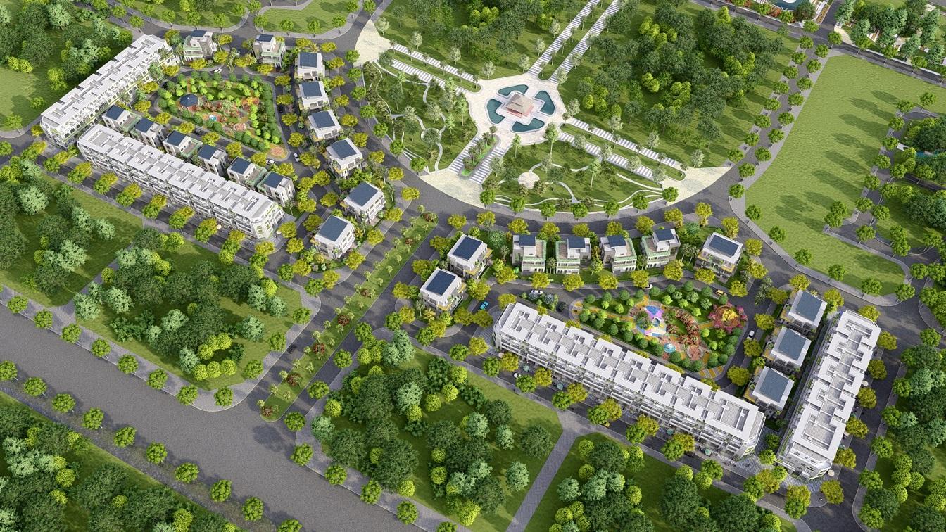 dự án lan viên villa đặng xá gia lâm