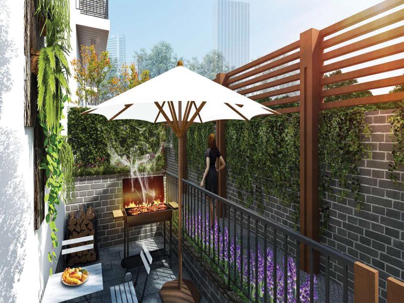 tiện ích dự án lavender garden định công