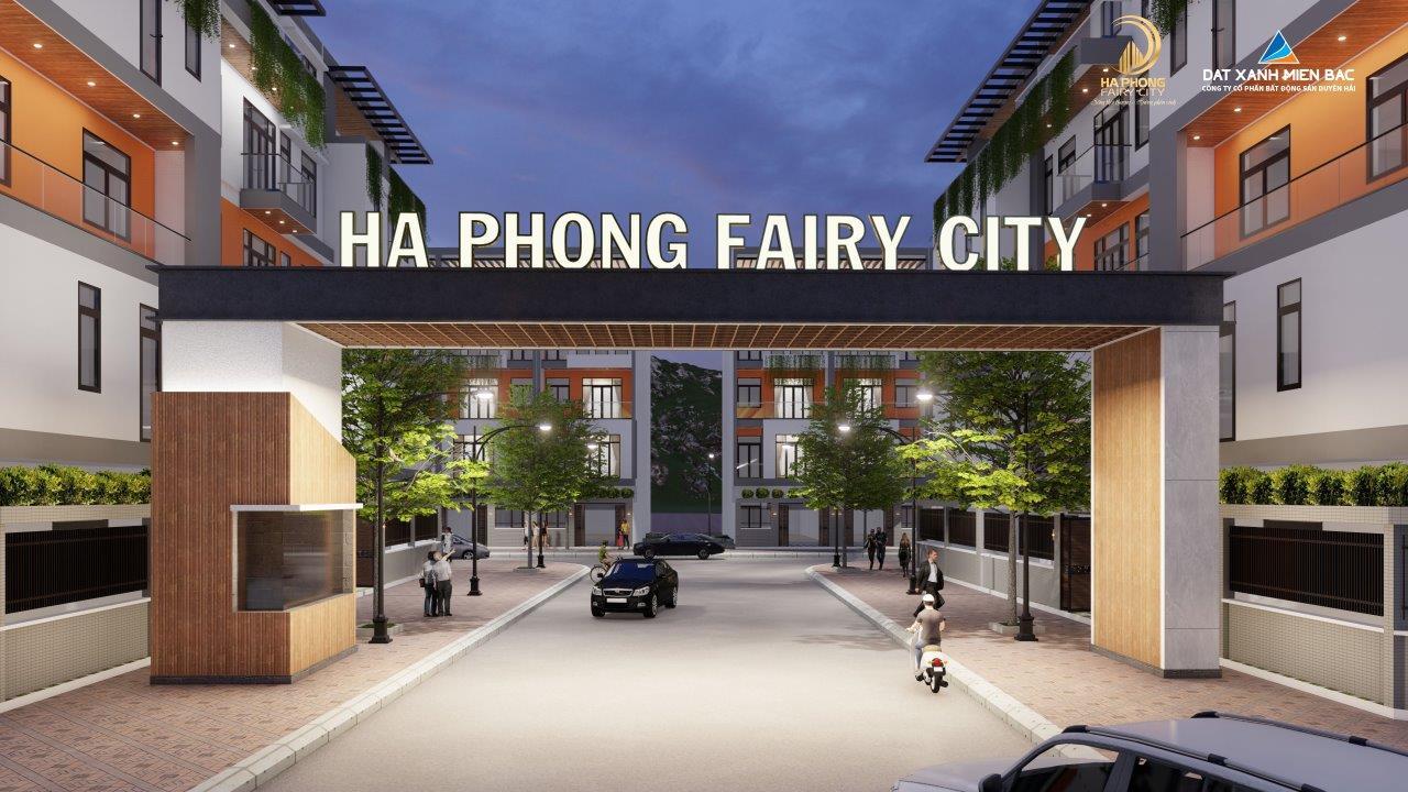 phối cảnh dự án hà phong fairy city hạ long