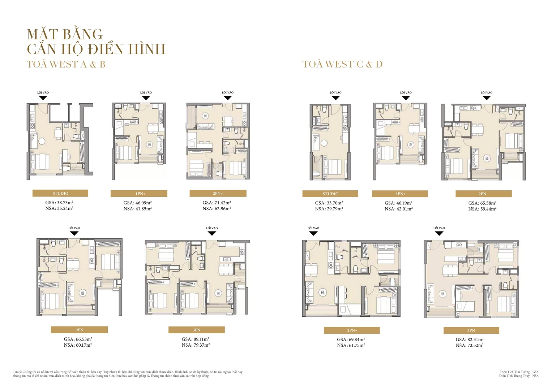 thiết kế căn hộ masteri west heights tây mỗ