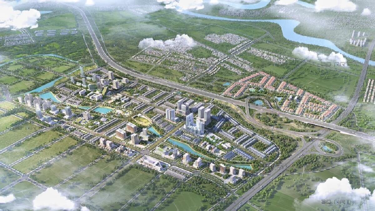 phối cảnh dự án khu đô thị kim đô policity yên phong bắc ninh