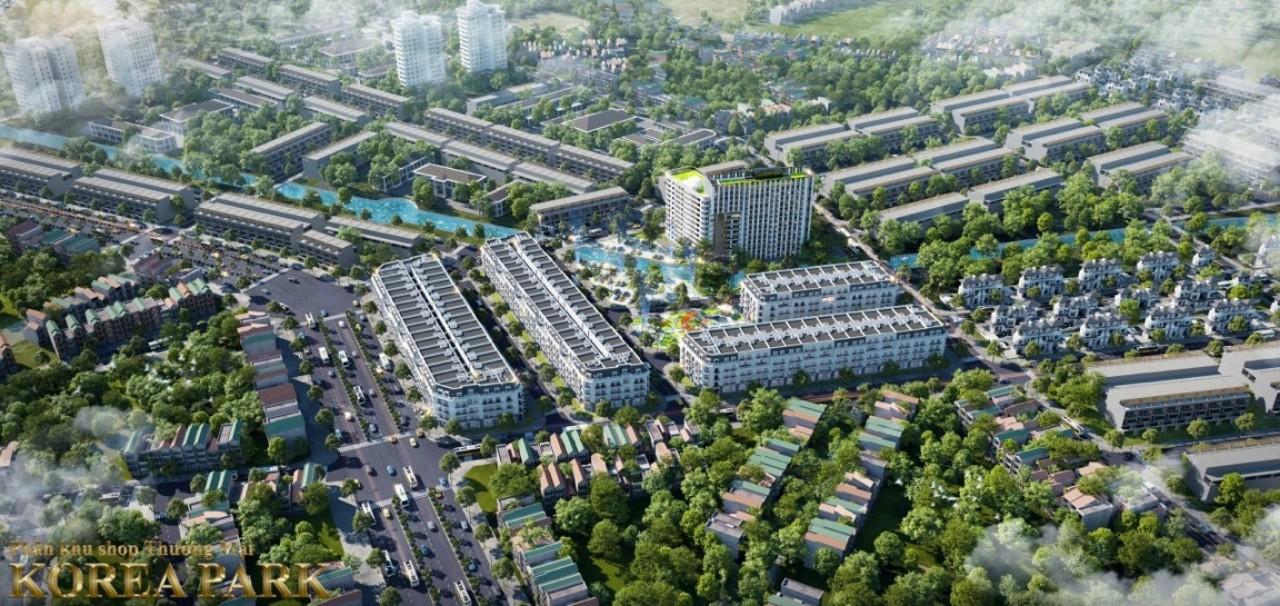 phối cảnh dự án korea town yên phong bắc ninh