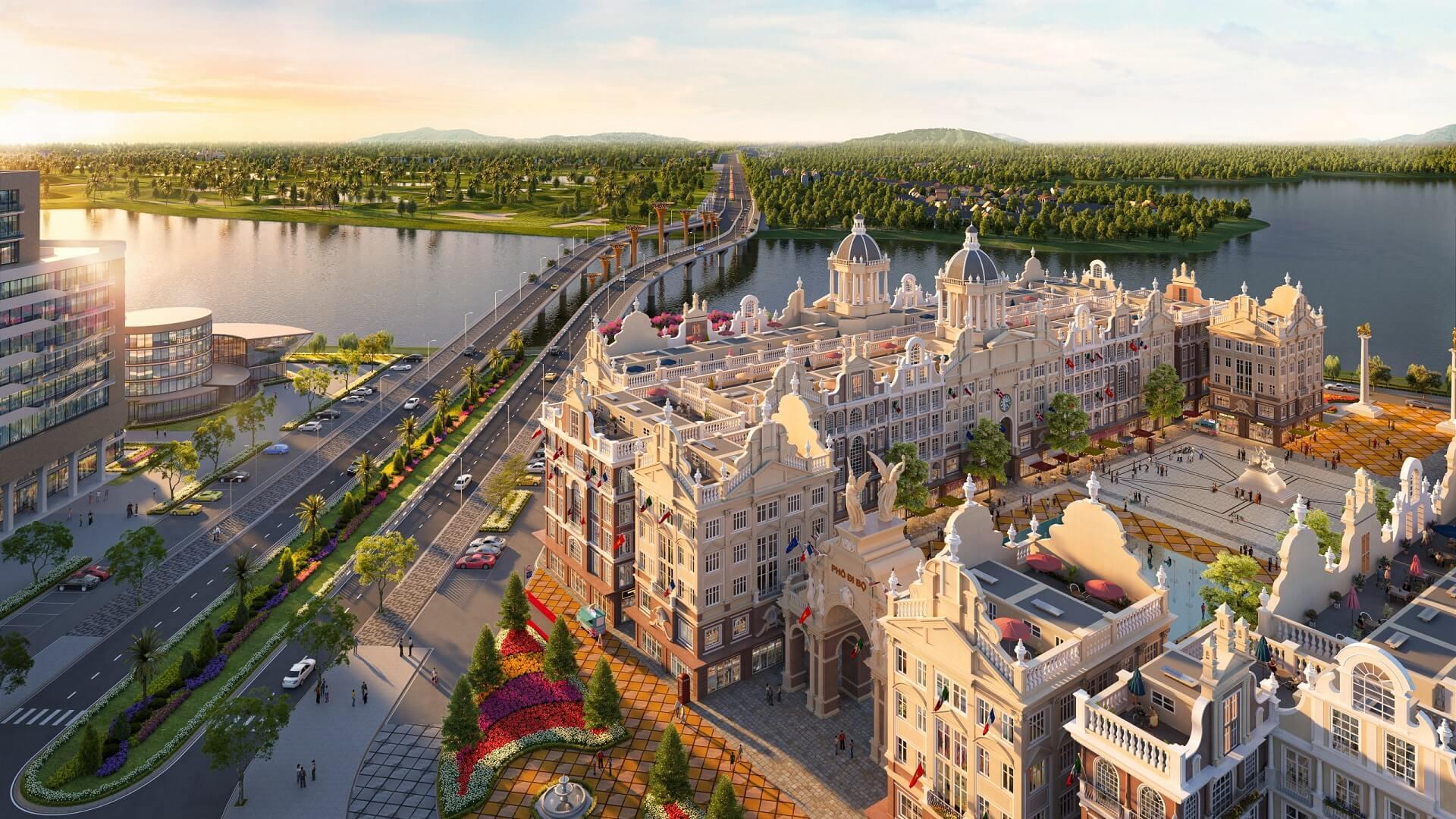 nhà phố dự án river bay vĩnh yên bắc đầm vạc