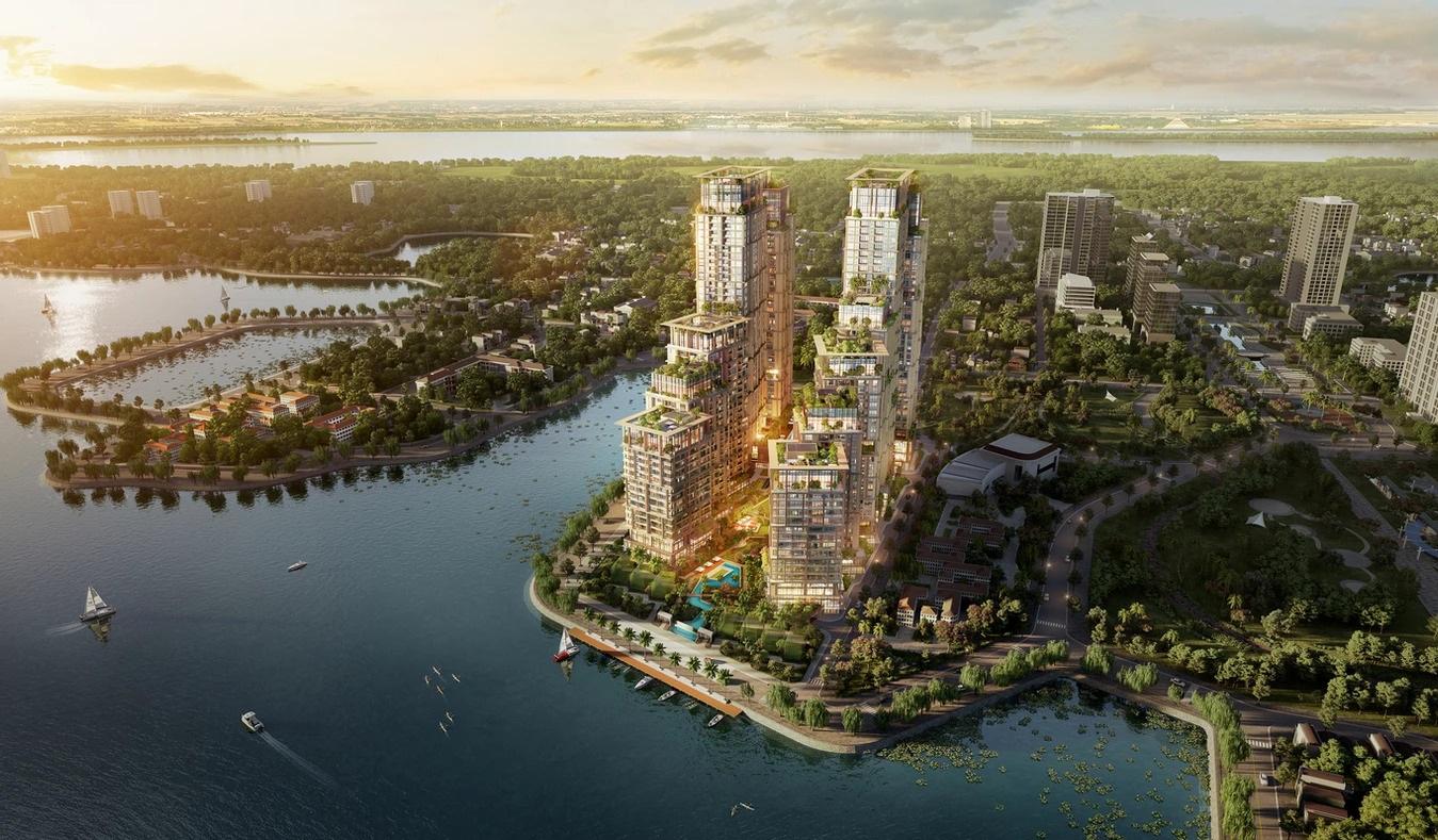 phối cảnh dự án sun grand city quảng an residence