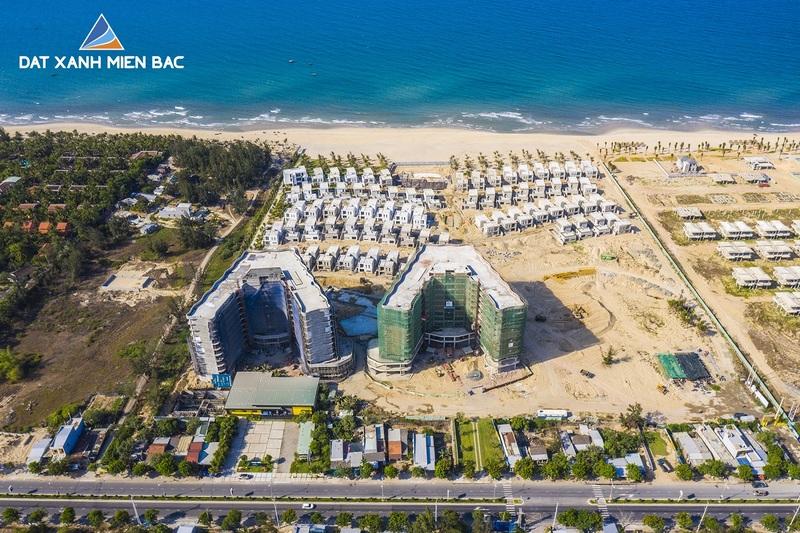 tiến độ thực tế dự án shantira legasea villas hội an