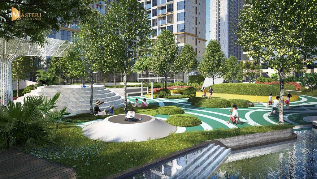 tiện ích dự án mỹ hào garden city