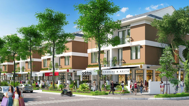 biệt thự dự án khu đô thị mỹ trung nam định