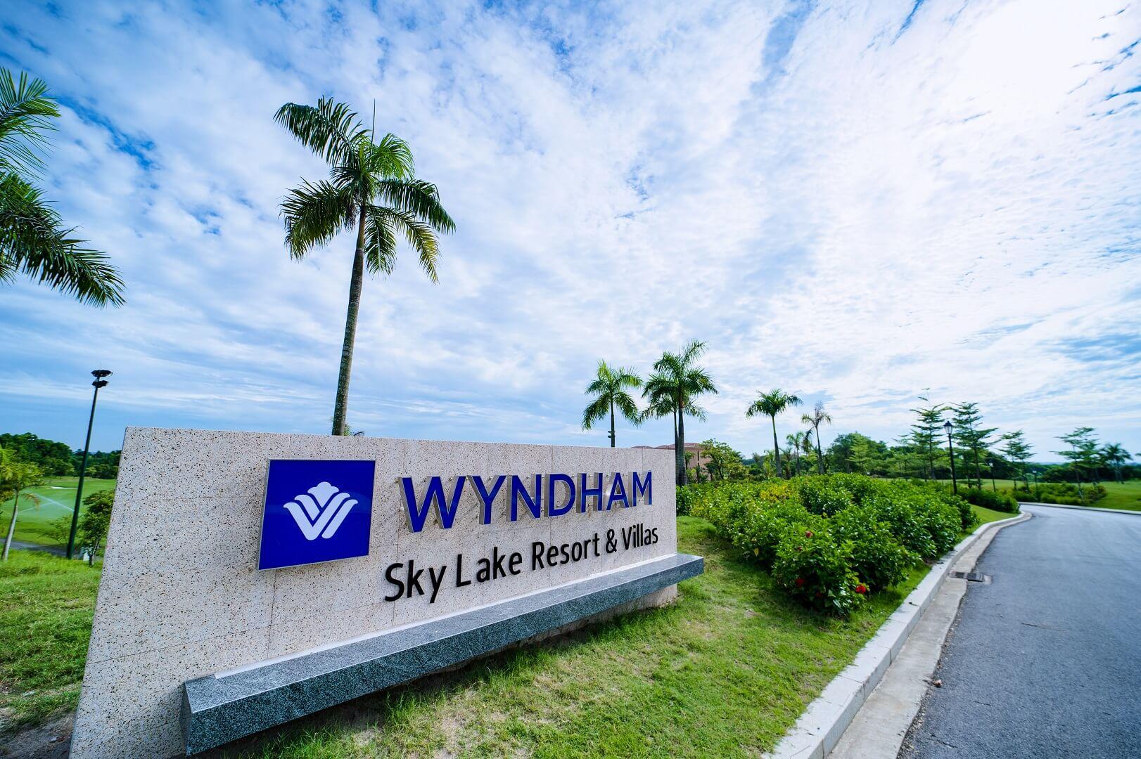 hình ảnh thực tế dự án wyndham sky lake chương mỹ