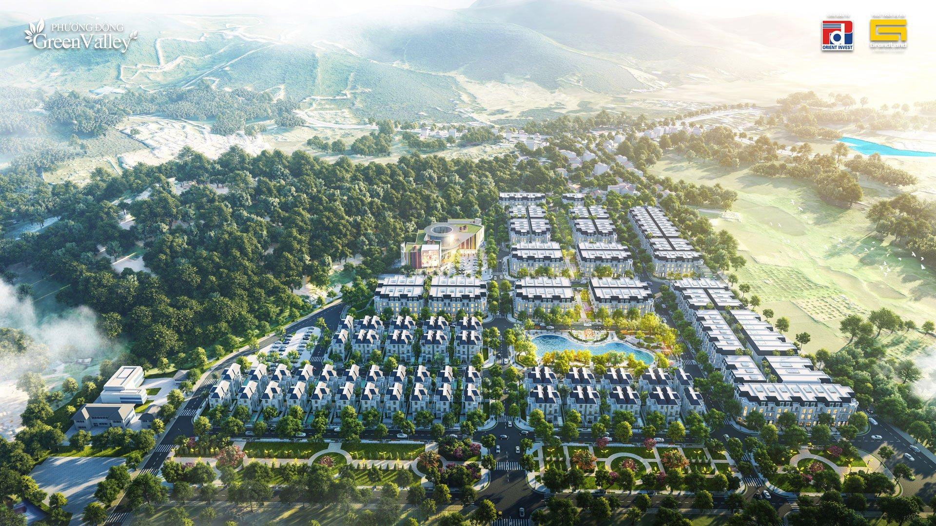 dự án phương đông green valley lương sơn hòa bình