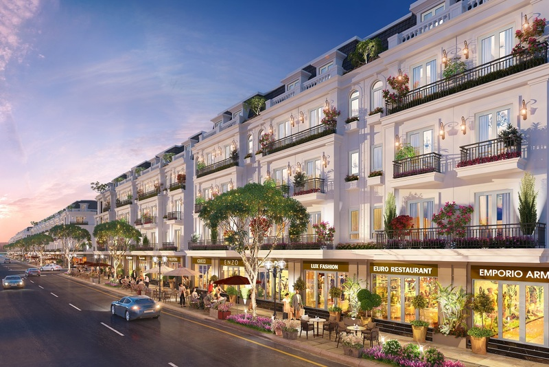 shophouse dự án mario starlight uông bí