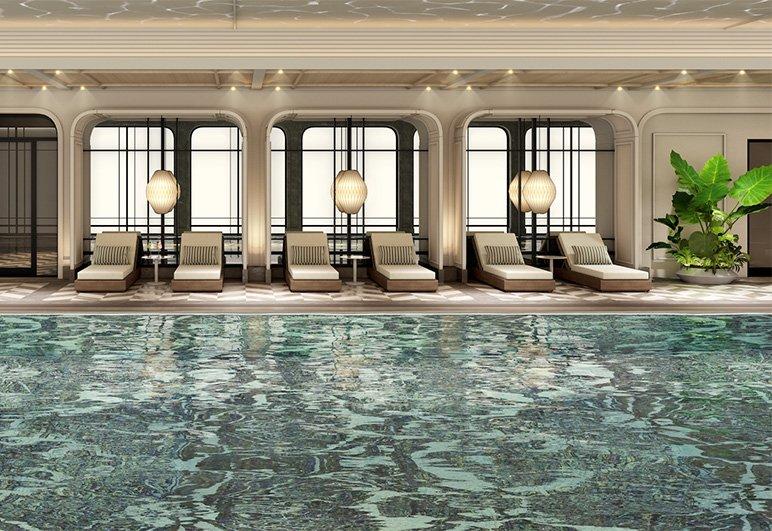 bể bơi dự án the grand hà nội