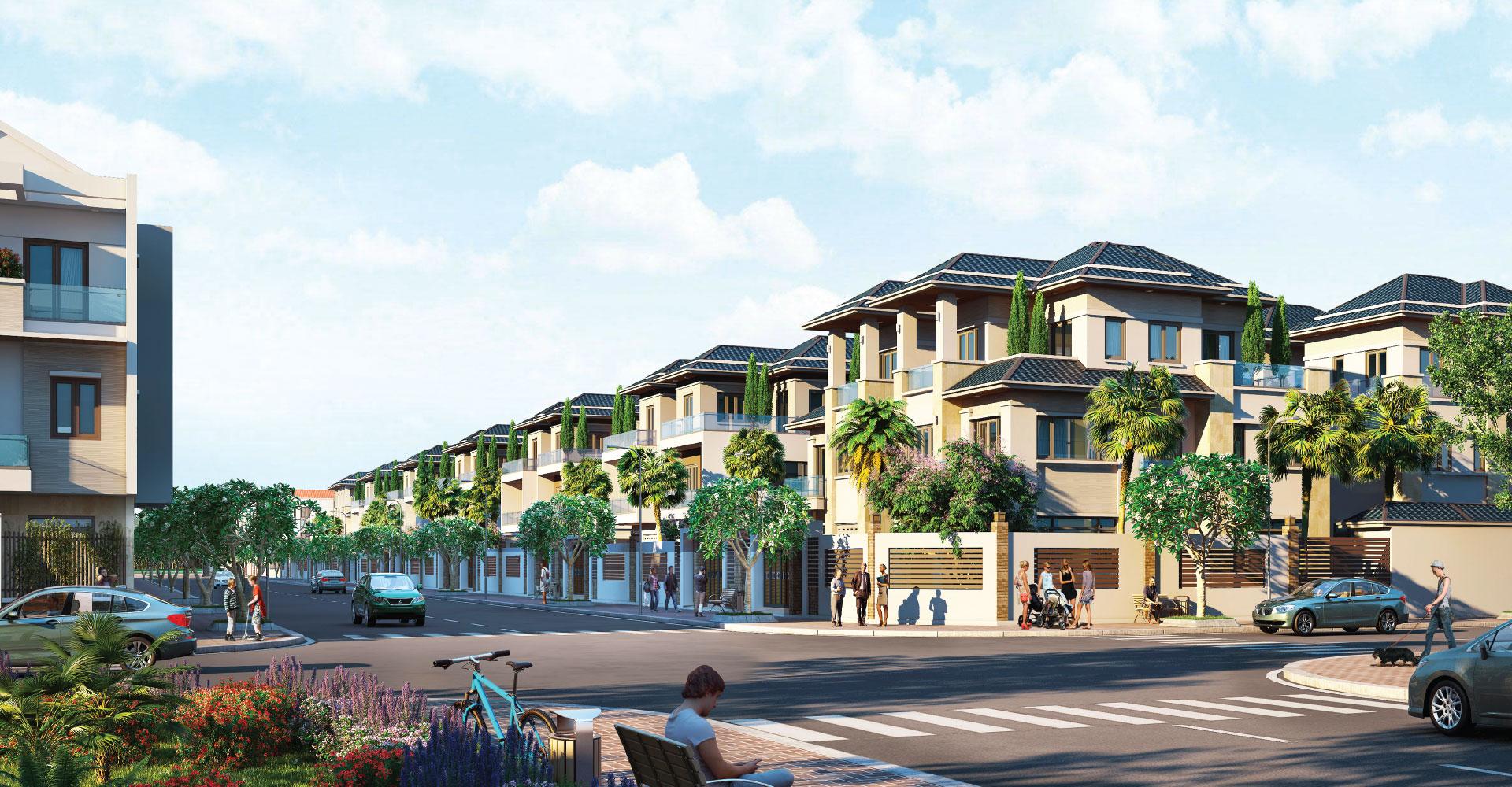biệt thự dự án cam ranh city gate