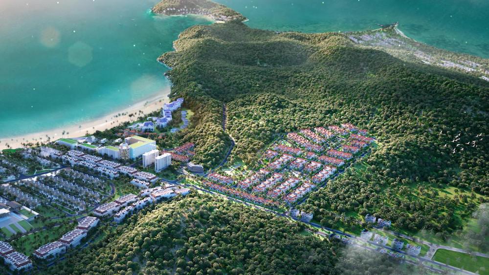phối cảnh dự án sun tropical village phú quốc